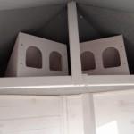 Nestkastjes zeskantige, grote vogelkooi Hannah