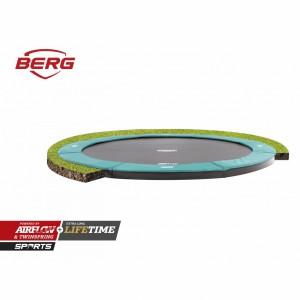 Trampoline BERG Champion 430 Flatground Groen 430cm