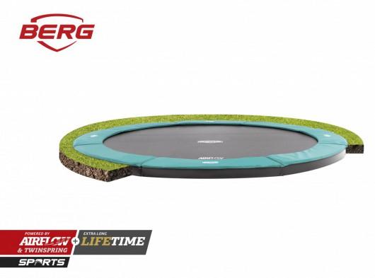Trampoline BERG Champion 380 Flatground Groen 380cm