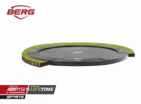 Trampoline BERG Champion 330 Flatground Grijs 330cm