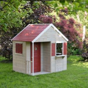 Houten speelhuis Summer Villa voor in de tuin