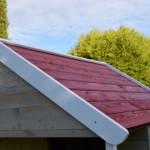 Houten waterdicht dak | Speelhuis