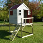 Speelhuis My Lodge - plateauhoogte 90cm