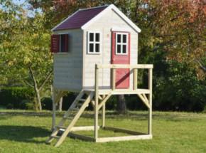 Speelhuis My Lodge plateauhoogte 90cm JoyPet