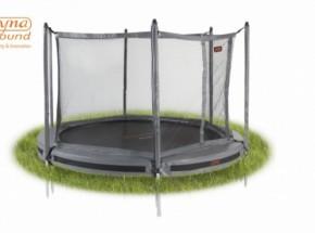 Pro-Line 8 trampoline InGround met safetynet Grijs 2,45m