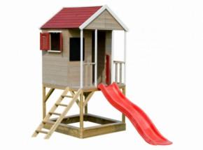 Speelhuis Summer Adventure House met glijbaan JoyPet