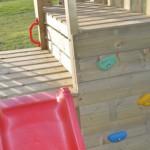 Speeltoren Junior Activity Tower met glijbaan