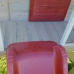 Speelhuis Summer Adventure House met glijbaan