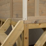 Laddertje aan speelhuis Nordic Adventure House