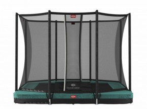 BERG InGround trampoline Ultim Favorit Groen - met net Comfort 280x190cm