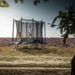 BERG trampoline Ultim Favorit Groen - met veiligheidsnet Comfort 280x190cm