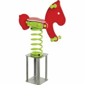 Veerwip Pony met betonanker