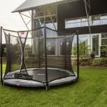 BERG InGround trampoline Favorit Grijs - met net Comfort Ø200cm