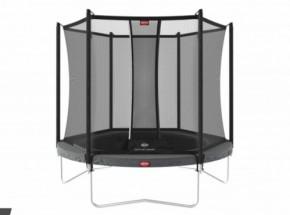 BERG trampoline Favorit Grijs - met veiligheidsnet Comfort Ø200cm