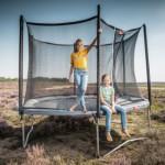 BERG trampoline Favorit Grijs - met veiligheidsnet Comfort Ø270cm