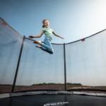 BERG InGround trampoline Favorit Grijs - met net Comfort Ø330cm