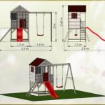 peelhuis Summer Adventure House met glijbaan en schommel