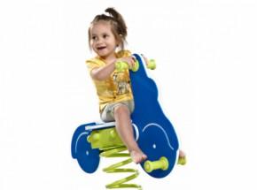 Veertoestel | Wipkip | Wip |Veerwip Scooter met voetplaat