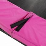 Trampoline beschermrand roze