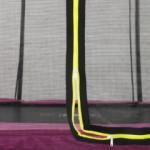 Trampolinerand roze | Trampoline EXIT Silhouette Ground
