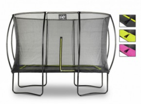 Trampoline EXIT Silhouette met veiligheidsnet 305x214cm (10x7ft)