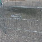 Deurtje in konijnenren | panelenren