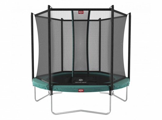 BERG trampoline Favorit Groen - met veiligheidsnet Comfort Ø330cm