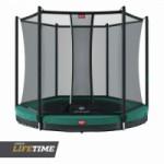 BERG InGround trampoline Favorit Groen - met net Comfort Ø330cm