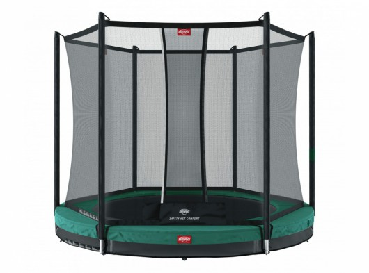 BERG InGround trampoline Favorit Groen - met net Comfort Ø330cm
