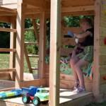 Luxe speeltoestel Palazzo inclusief glijbaan en @challenger