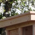 Luxe dak met houten overstekken