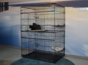 Kattenkooi Level met afmeting 91x61x131cm