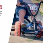 Mini-skelter BERG Buzzy Jeep Rubicon - Stabiliteit is veilig spelen
