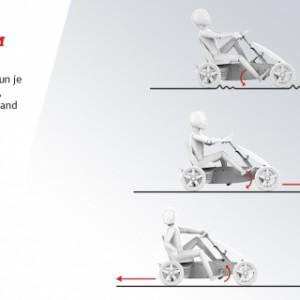 Skelter BERG Rally Orange met aanhanger - BFR-systeem