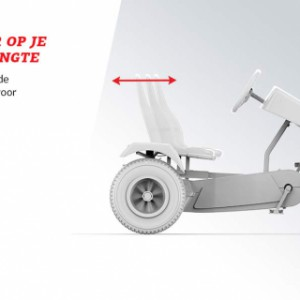 Skelter BERG Jeep Revolution BFR-3 - Aanpasbaar op je lichaamslengte