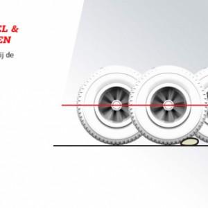 Skelter BERG Jeep Revolution BFR-3 - Comfortabel & soepel rijden