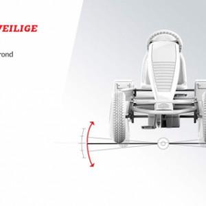 Skelter BERG Jeep Revolution BFR-3 - Stabiel en veilige wegligging