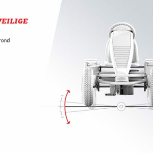 Skelter BERG X-Cross BFR - Stabiel en veilige wegligging
