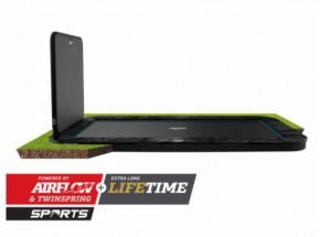Trampoline BERG Ultim Elite Flatground zwart met AeroWall 2x2 500x300cm