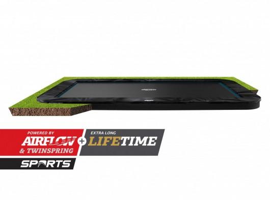 Trampoline BERG Ultim Elite Flatground Zwart 500x300cm