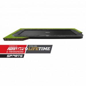 Trampoline BERG Ultim Elite Flatground Grijs 500x300cm