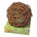 Weidebal - wilgenbal met hooi - voor konijnen