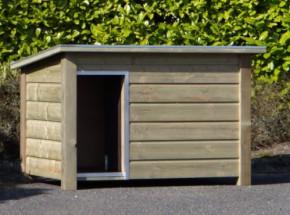 Hondenhok Wolf Geïsoleerd, met verwarming 157x104x100 cm