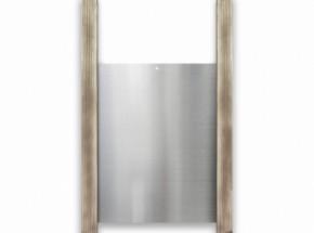 Aluminium Chickenguard luikje met 2 eiken geleiders van 60cm 30x40cm