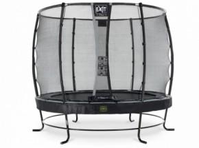 Trampoline EXIT Elegant Premium met veiligheidsnet Deluxe - Ø253cm - zwart