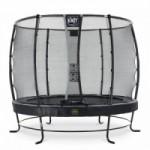 Trampoline EXIT Elegant Premium met veiligheidsnet Deluxe - Ø305cm - zwart