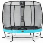 Trampoline EXIT Elegant Premium met veiligheidsnet Deluxe - Ø305cm - blauw