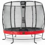 Trampoline EXIT Elegant Premium met veiligheidsnet Deluxe - Ø305cm - rood