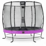 Trampoline EXIT Elegant Premium met veiligheidsnet Deluxe - Ø305cm - paars