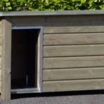 Houten hondenhok Wolf: stupid-simple & very-handy